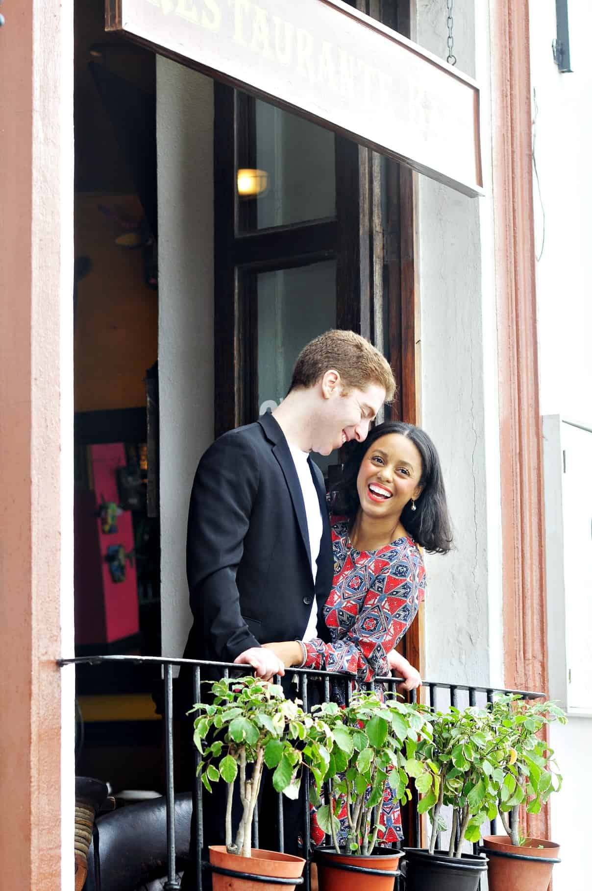 Swoon Talent's marriage & relationship therapist Kongit Farrell with husband