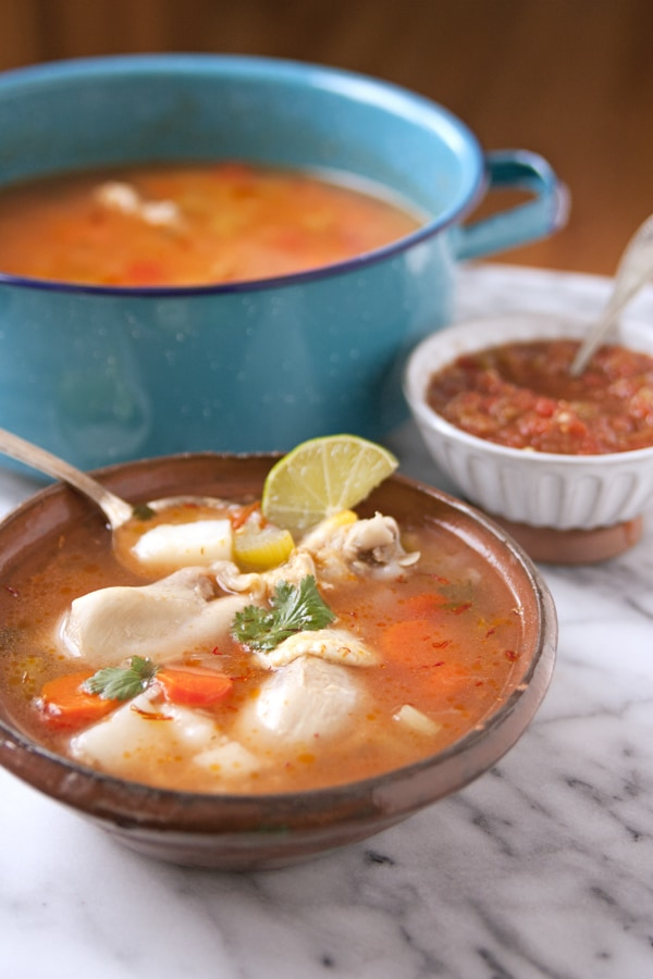 Mexican beef soup by Swoon Talent's Yvette Marquez-Sharpnack