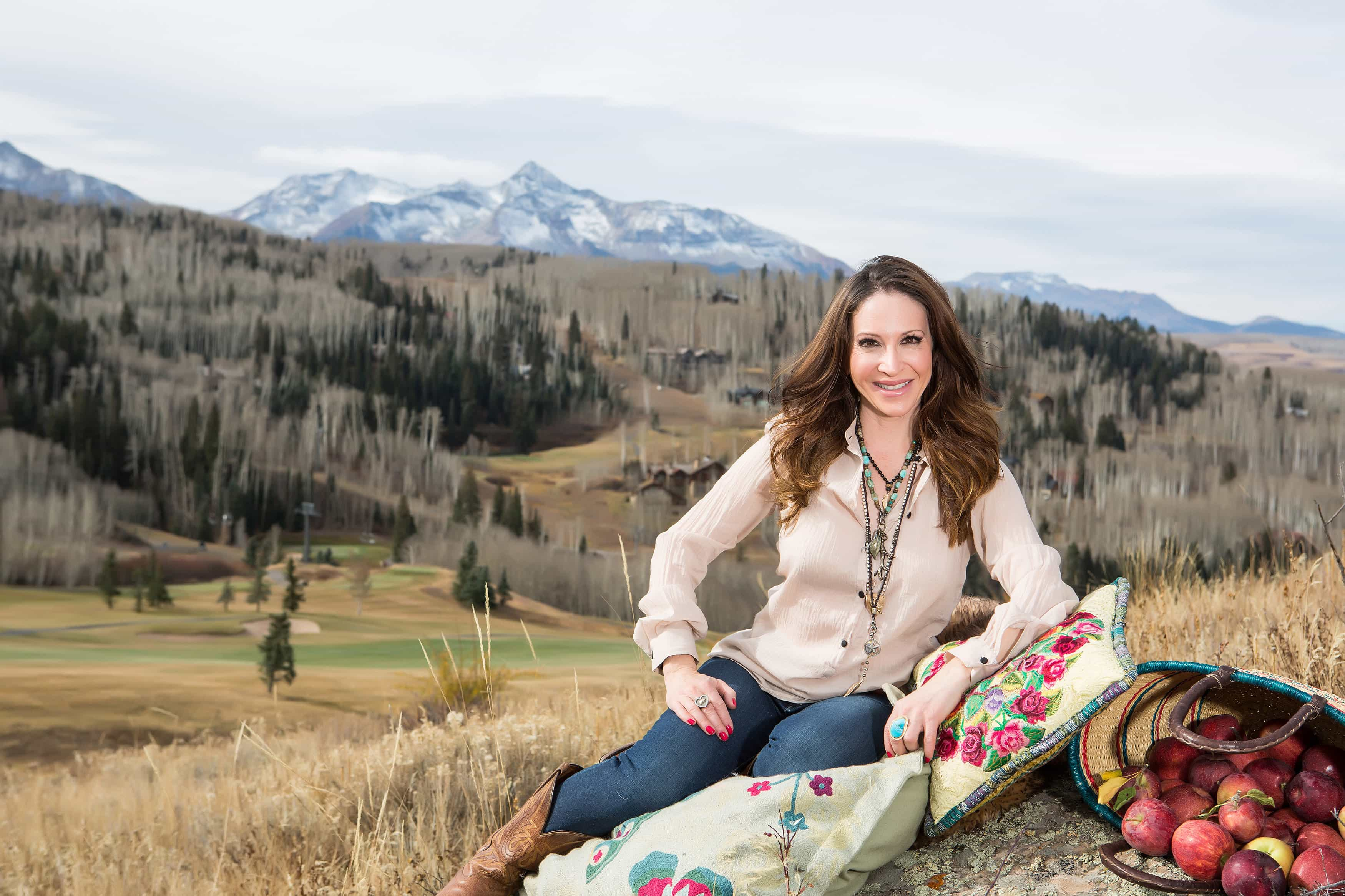 Swoon Talent's food blogger & cookbook author Marla Meridith from Telluride, Colorado