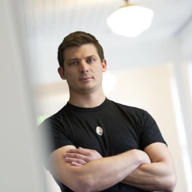 Food tech entrepreneur Josh Tetrick at Hampton Creek headquarters in San Francisco - Swoon Talent