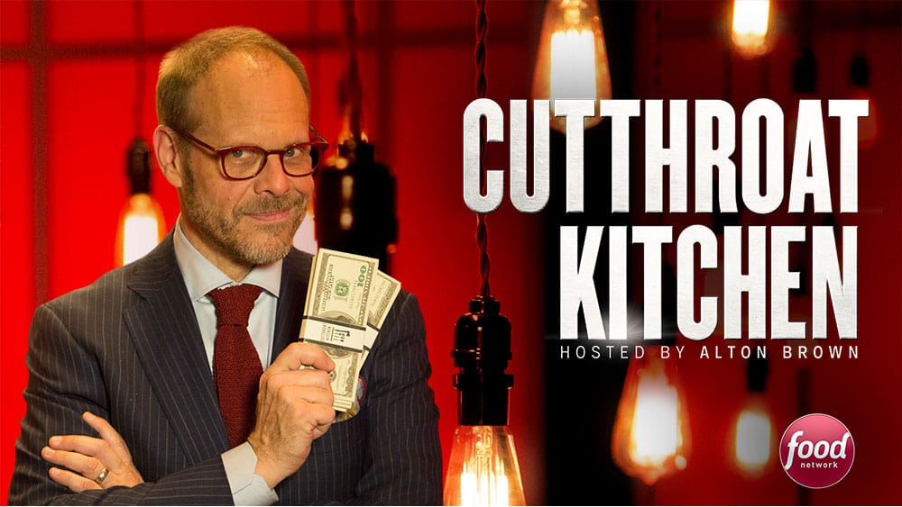 ive booked a whopping 15000 guests over the course of my television career and unique high energy characters have always been my thing - Cutthroat Kitchen