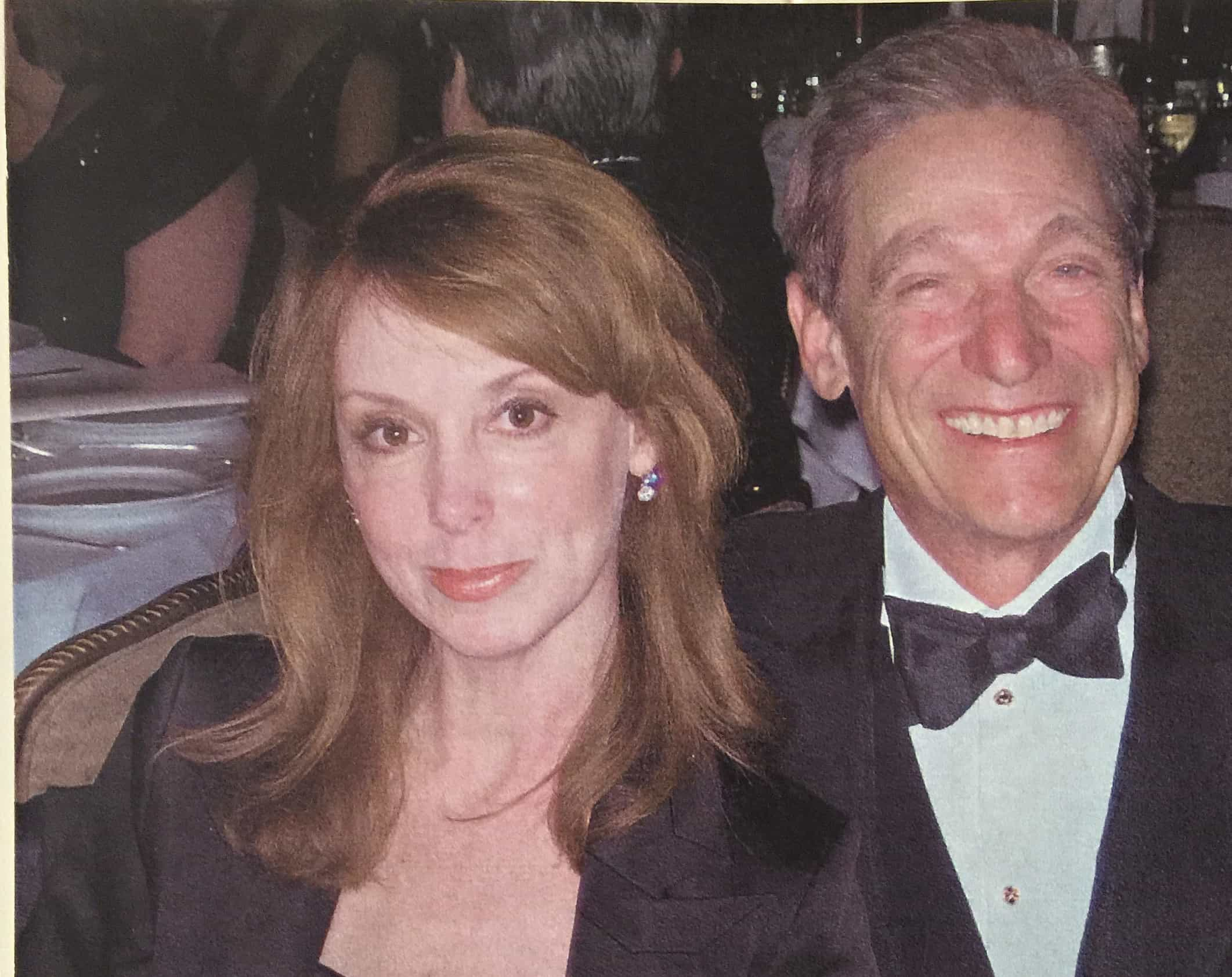 TV Producer & Swoon Talent Founder Donna Benner with Maury Povich at Black Tie Affair