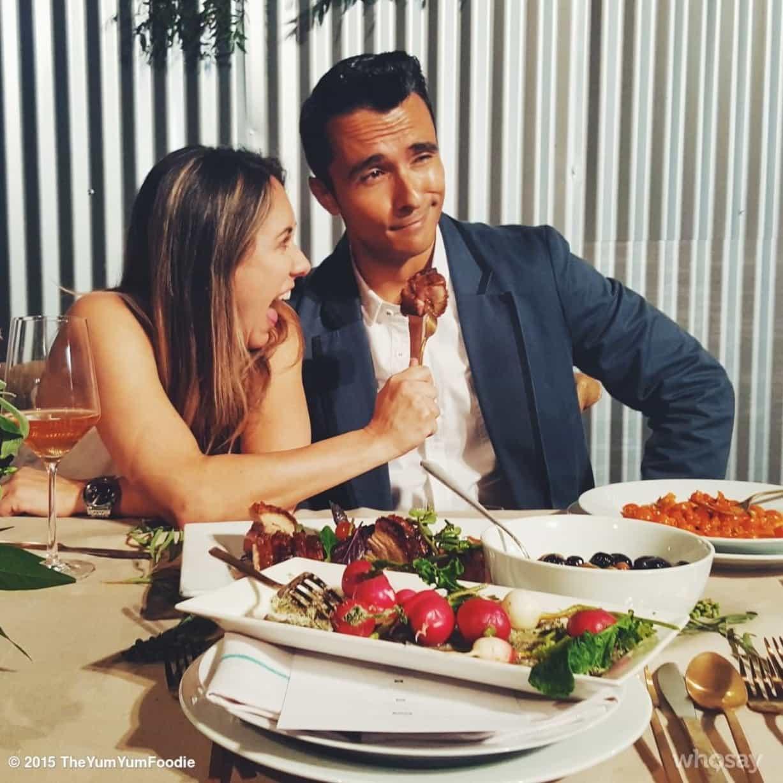 Swoon Talent's Latina food influencer Eddie Zamora, The Yum Yum Foodie