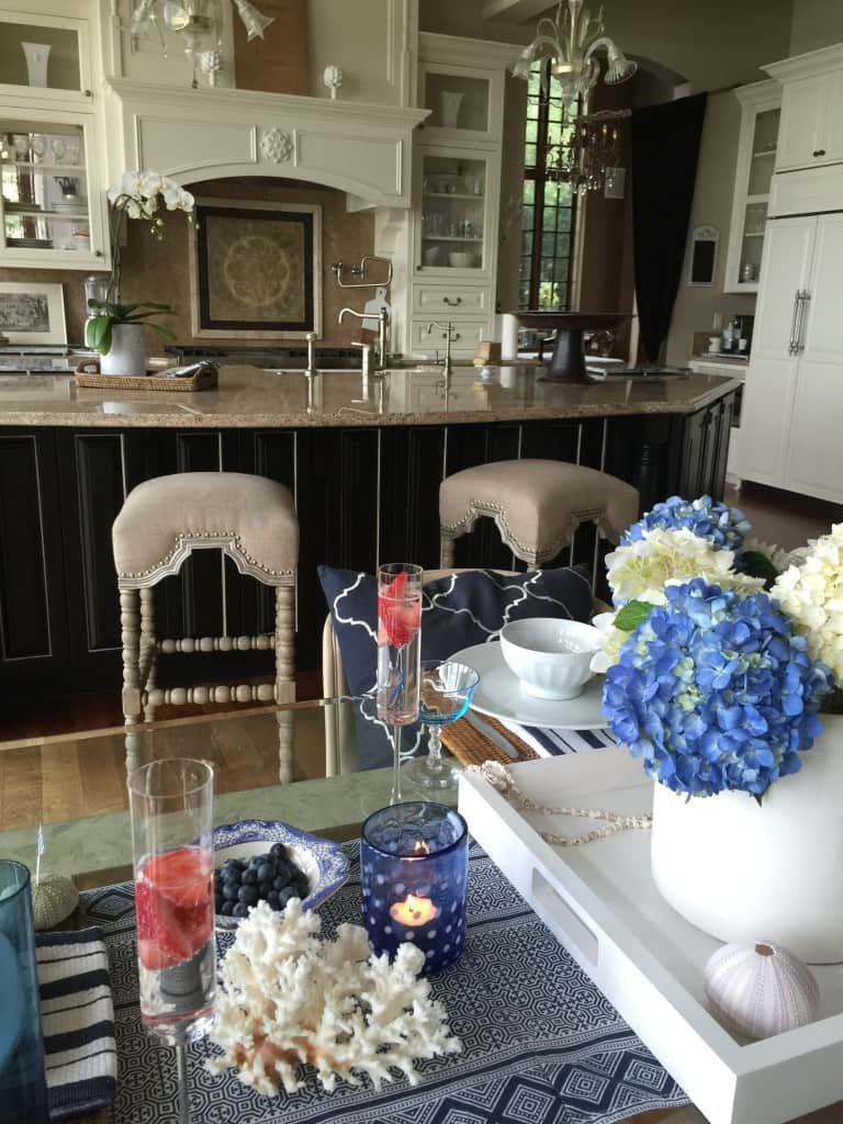 Monica Hart's gorgeous kitchen in her dream home