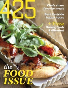 Monica Hart was featured in 425 food magazine