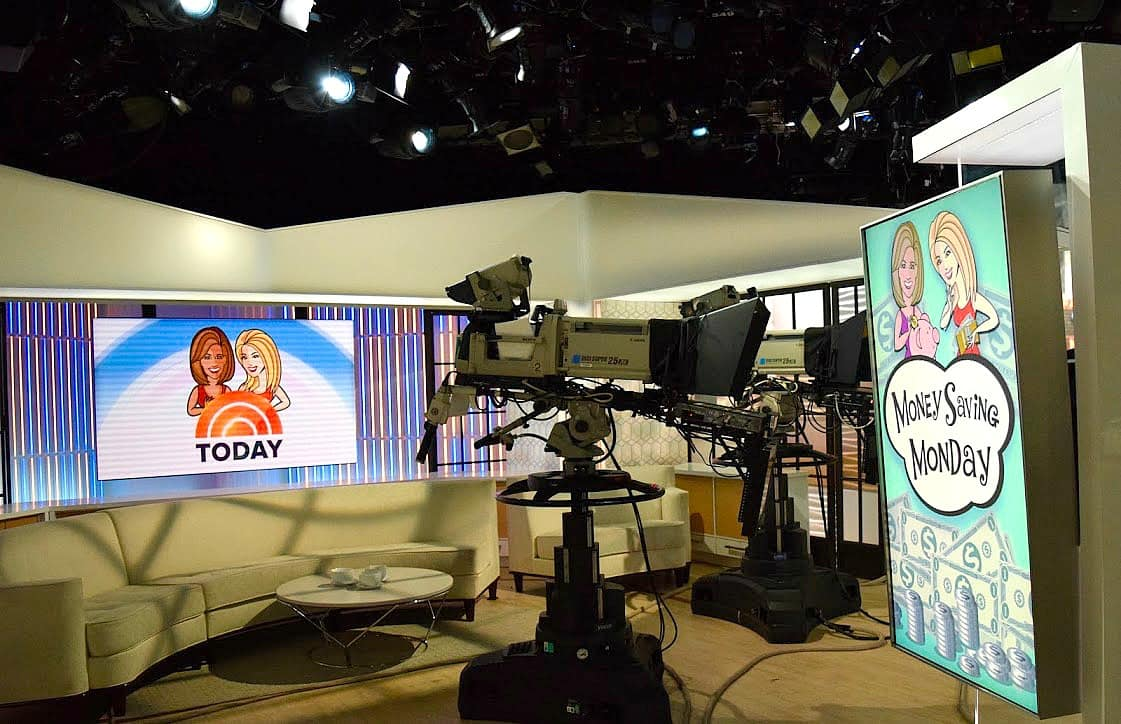 Backstage at the Today show- Swoon Talent blog by Donna Benner
