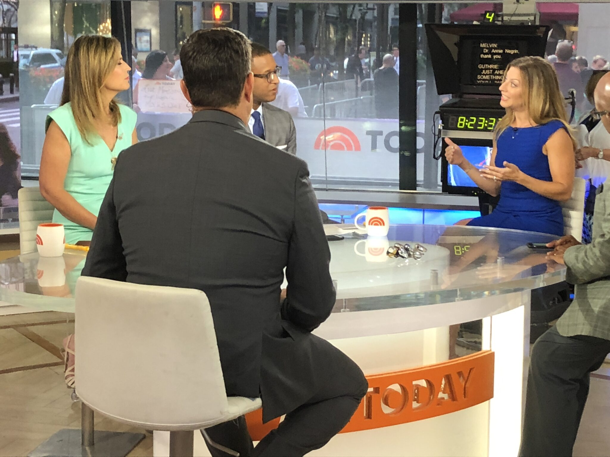 Swoon Talent - New York Eye Doctor Annie Negrin on TODAY Show