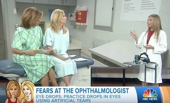 Eye Doctor Annie Negrin with Today's Kathie Lee & Hoda talking fears at the ophthalmologist - Swoon Talent