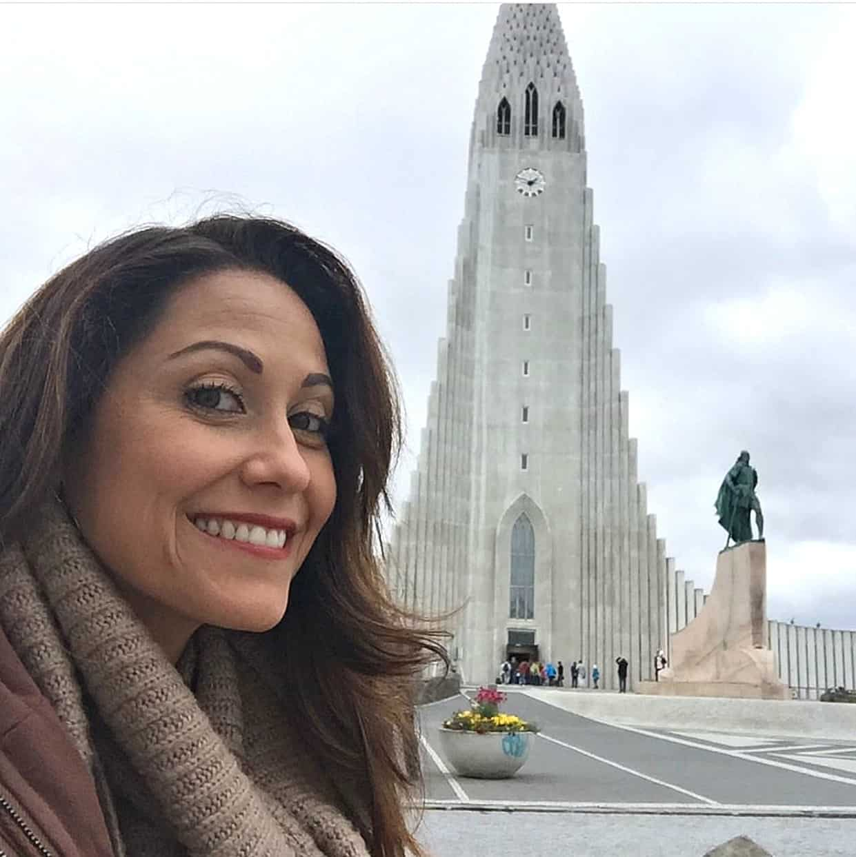Traveling the world for her favorite vegan eats, here's Swoon Talent's Carolyn Scott-Hamilton in Iceland.