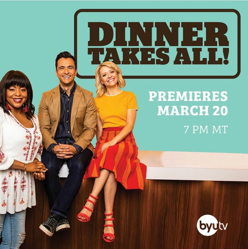 Swoon's Talent's Eddie Zamora (The Yum Yum Foodie) stars as one of the judges on 'Dinner Takes All'
