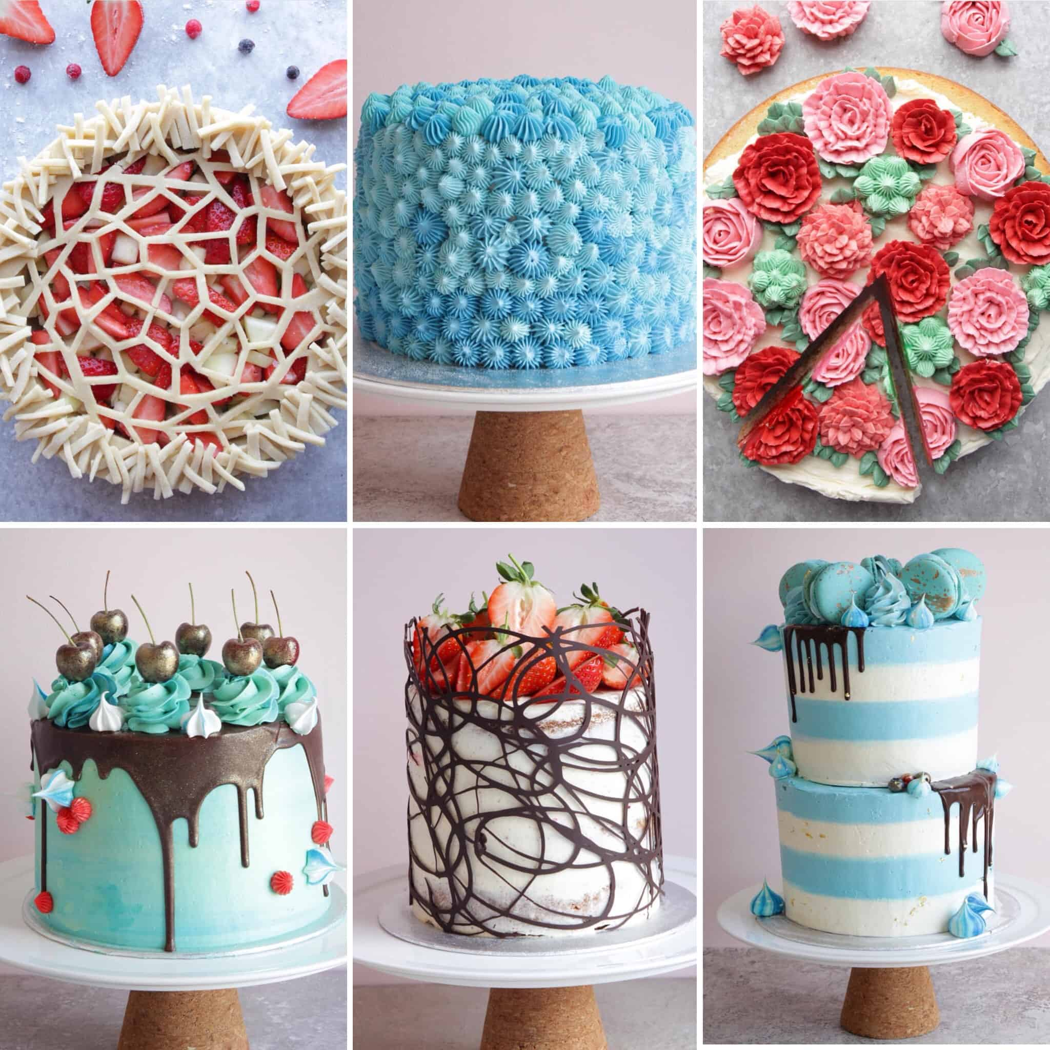 Gorgeous Cakes by YouTuber Home Baker Matt Adlard, The Topless Baker of Swoon Talent