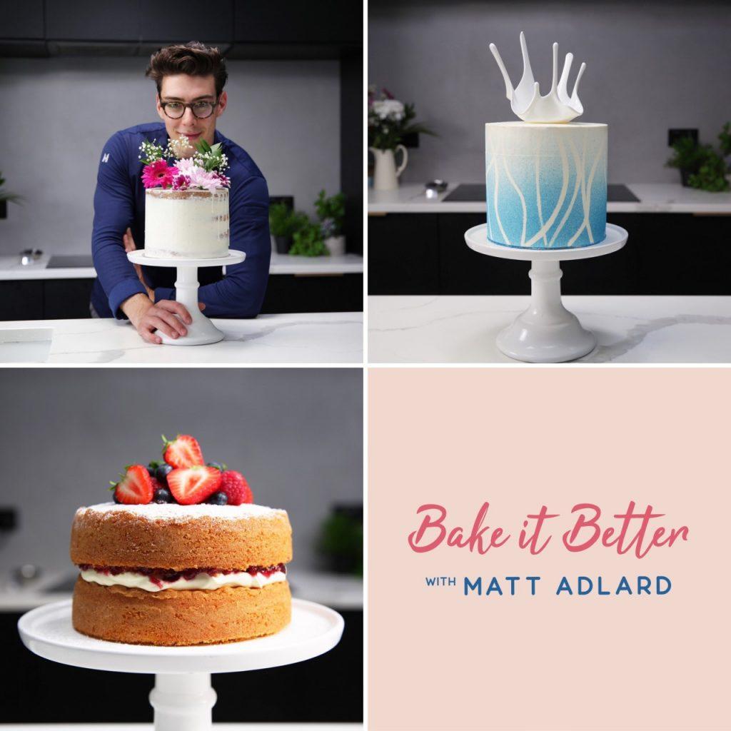 Bake It Better with Matt Adlard - online baking classes with YouTube star
