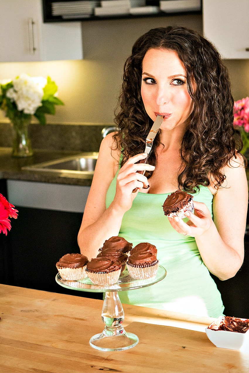 Home Cook, Health & Wellness Coach Abby Phon's Vegan Chocolate Cupcakes - Swoon Talent