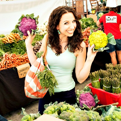 Swoon Talent - Vegan Chef Abby Phon at Farmer's Shopping Organic