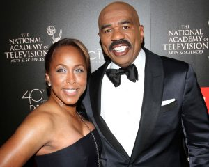 Steve Harvey with Wife Marjorie at 40th Annual Daytime Emmy Awards - Photo Aceshowbiz