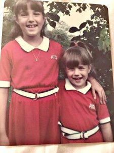 Steve Harvey's Senior Producer Alyson DiFranco With Sister April As Children