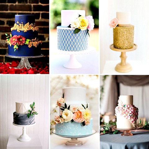 Wedding cakes designed by pastry chef & Food Network winner Steve Konopelski of Turnbridge Point- Swoon Talent