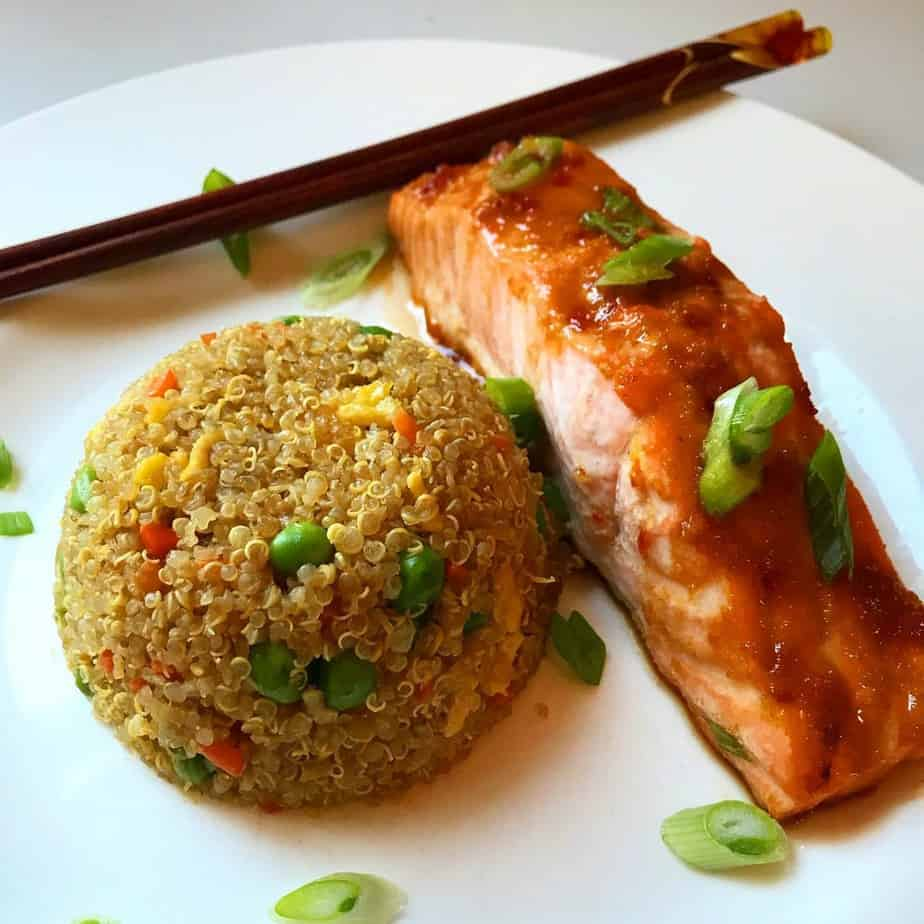 Asian Glazed Salmon by Private New York City Chef Rhadia Hursey