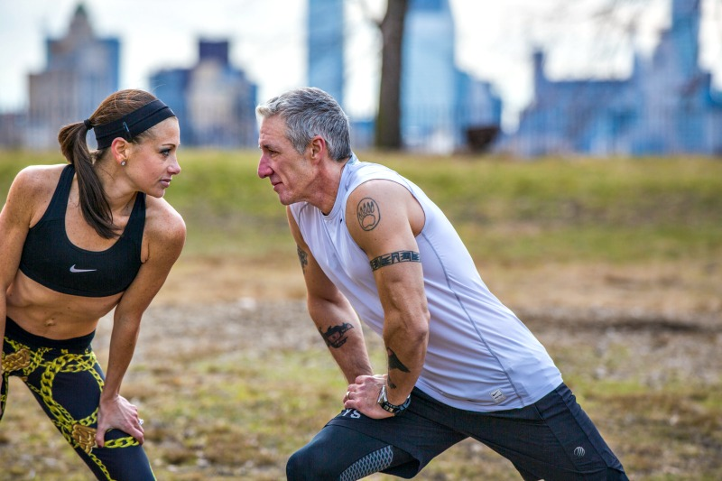 Fitness experts & Instagram influencers Jamie & George Hess of @NYCFitFam