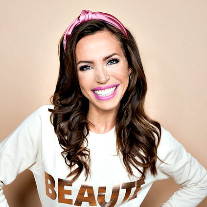 On-camera beauty expert Nicolette Brycki