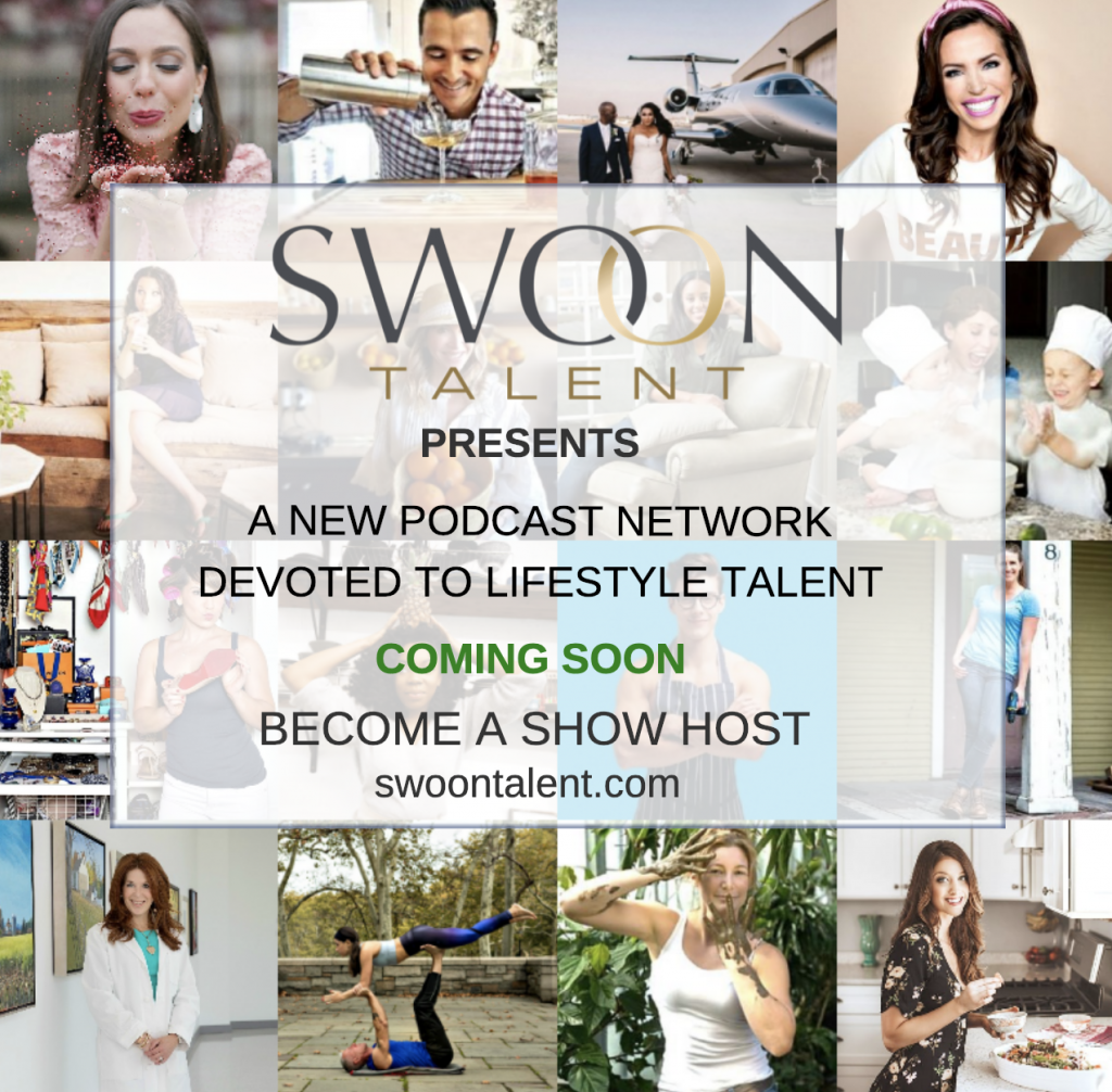 Be A Podcast Host - Swoon Talent