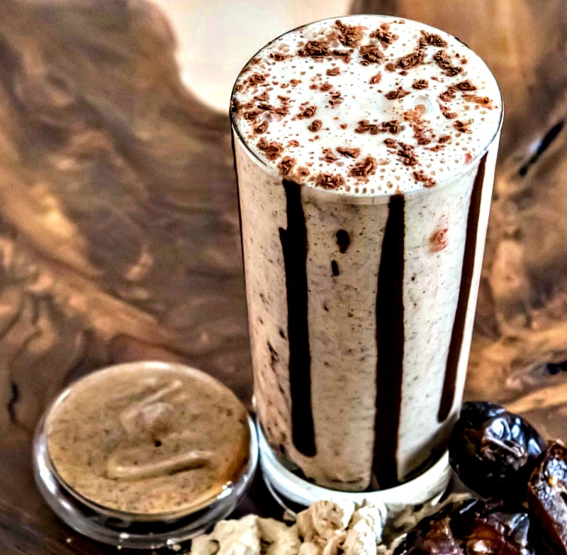 Chef Ginger Lewis' Raw Protein Shake - Almond Butter Cup