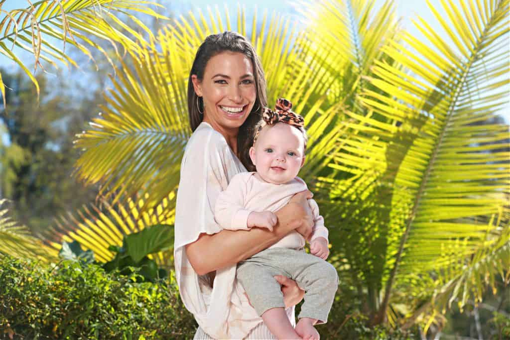 Ashley Reinke Hawk loves being a new mom and maintaining a healthy lifestyle for herself and her family.