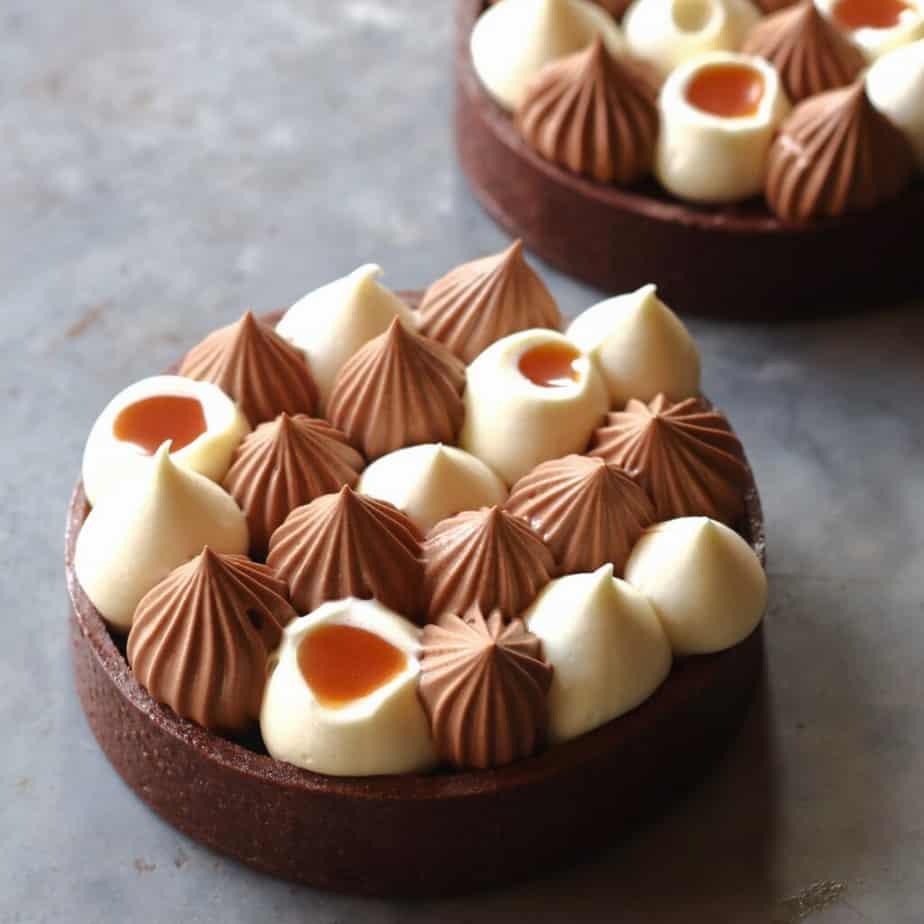 Matt Adlard's caramel tart