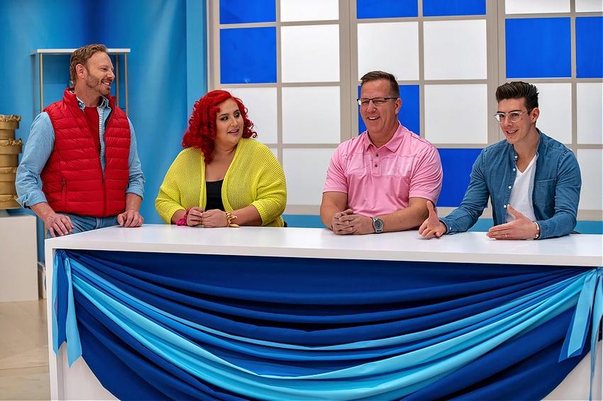 Matt Adlard joins the judging lineup on the Food Network with fellow judges Claudia Sandoval, Keegan Gerhard
