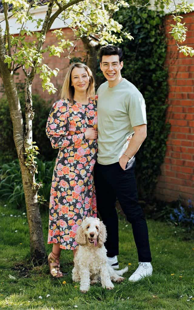 When not baking, Matt Adlard loves to spend time at home with his wife and their dog.