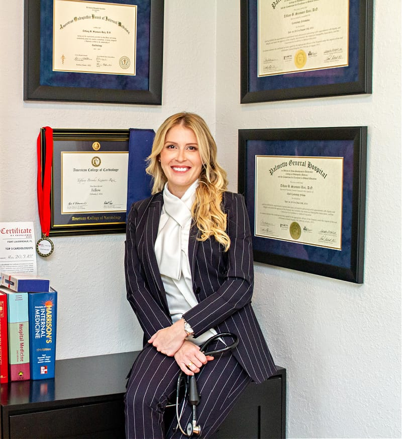 Dr. Tiffany Sizemore is a cardiologist and concierge physician with years of medical experience.