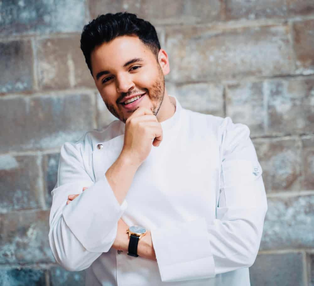 Chris Valdes is a TV Chef & a celebrity Miami caterer who has been featured on the Food Network and other cooking channels