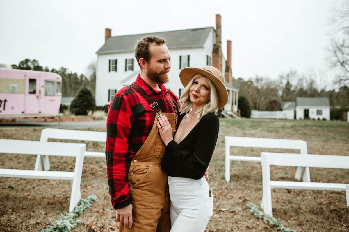 Farmhouse weddings - Britnye & Cody Shore