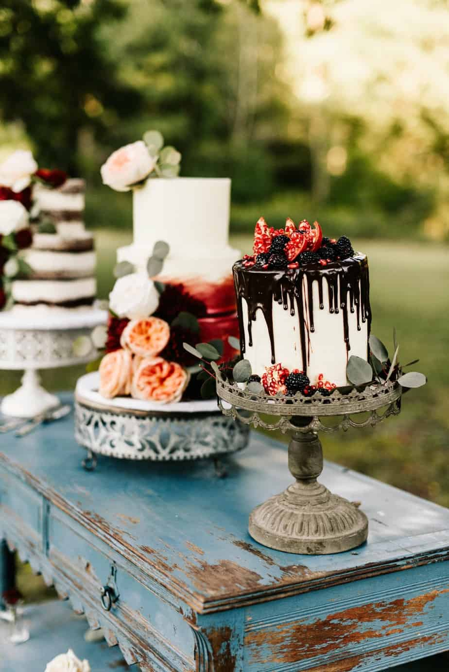 farmhouse wedding cakes