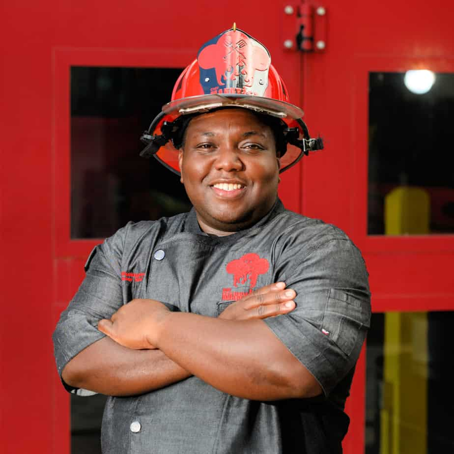 Manny Washington is the firehouse chef for the Orlando Fire Department