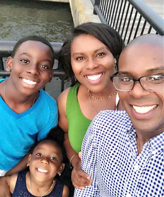 Dr. Cedrek McFaden is passionate about his work as a doctor, and also his job as a father and family man.