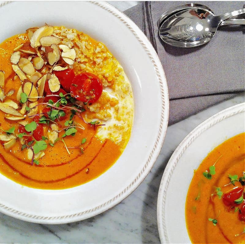 Roasted Tomato Soul Bowl Chef & Healthy Fitness Expert Erin Stewart