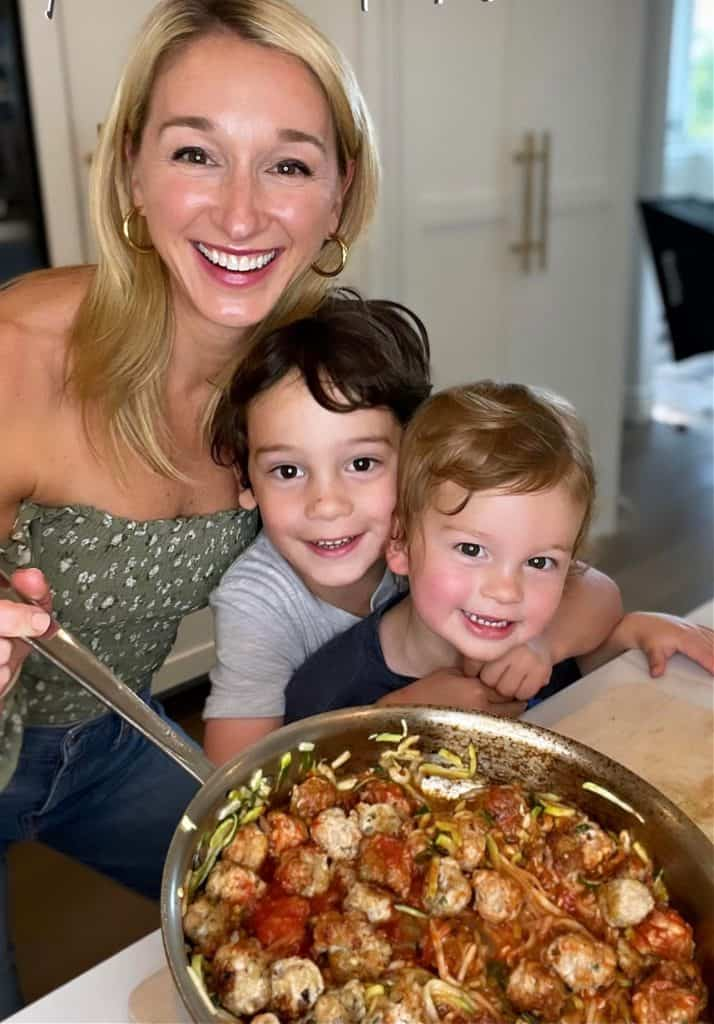 Chef & Healthy Fitness Expert Erin Stewart loves spending time in the kitchen with her two young children.