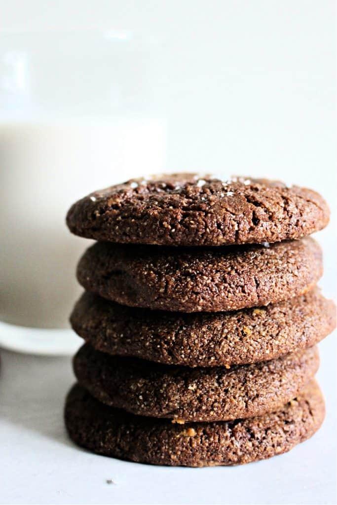 Paleo Brownie Crinkle Cookies ikTok Chef Kathleen Ashmore