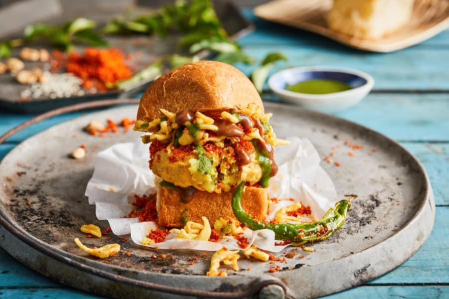 Chicken sliders prepared by Atlanta based chef Palak Patel