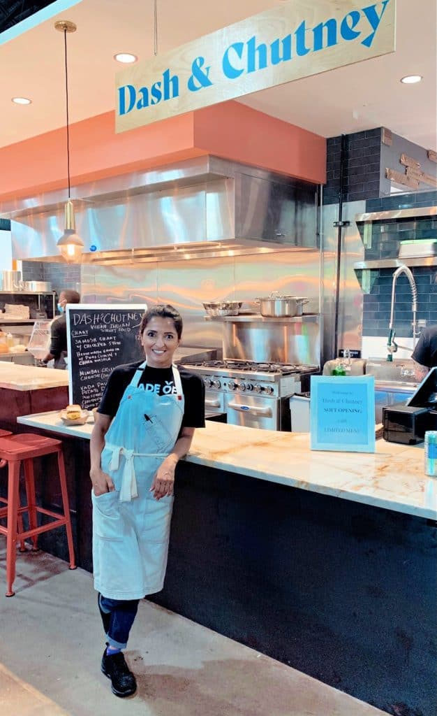 TV personality Chef Palak Patel at her restaurant