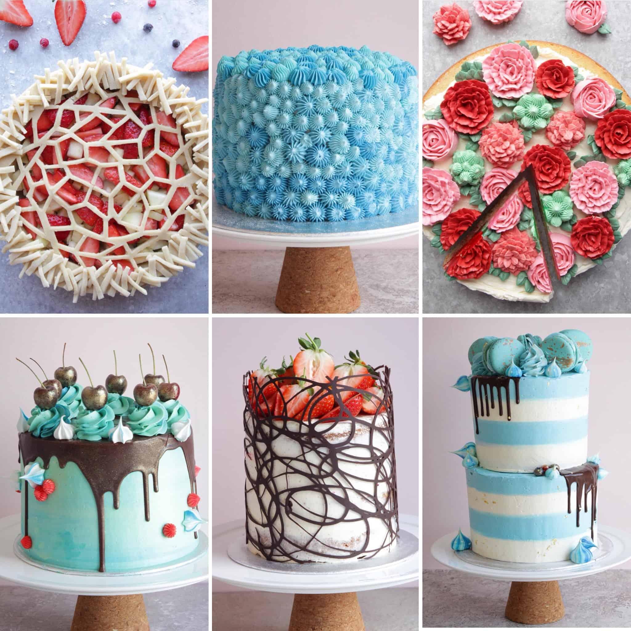 Gorgeous Cakes by YouTuber Home Baker Matt Adlard, The Topless Baker of Swoon Talent