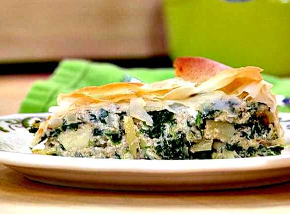Swoon Talent Blog - Rachael Ray's Spanakopita Pie - A fav of Rach's Producer Joanna Sims