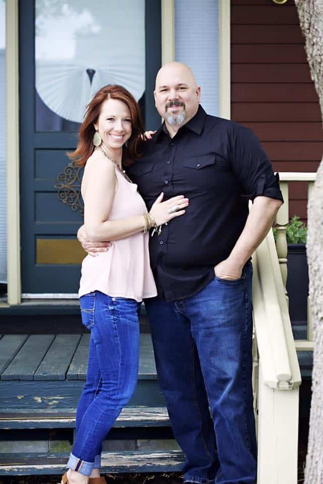 Swoon Talent's psychic mom Bonni McCliss with her law enforcement husband
