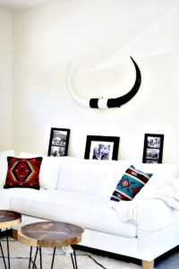 Swoon Talent Blog - Living Room of Airbnb Designed by Jodi Roth