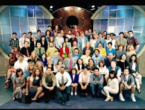 Paramount Pictures Production Staff of The Maury Povich Show 1990s