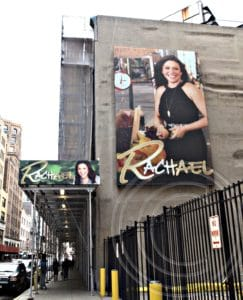 Outside the Rachael Ray Show Studio in New York City