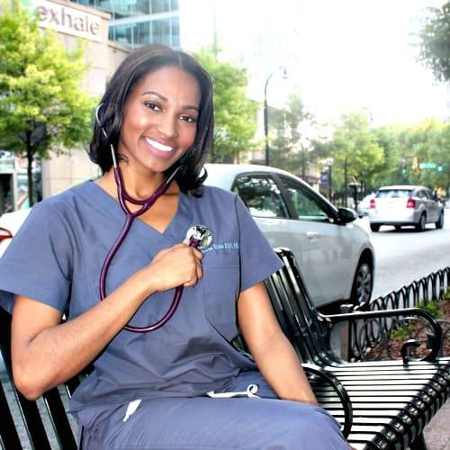 Swoon Talent's Registered Nurse & Nurse Practitioner Julian Eze of Atlanta