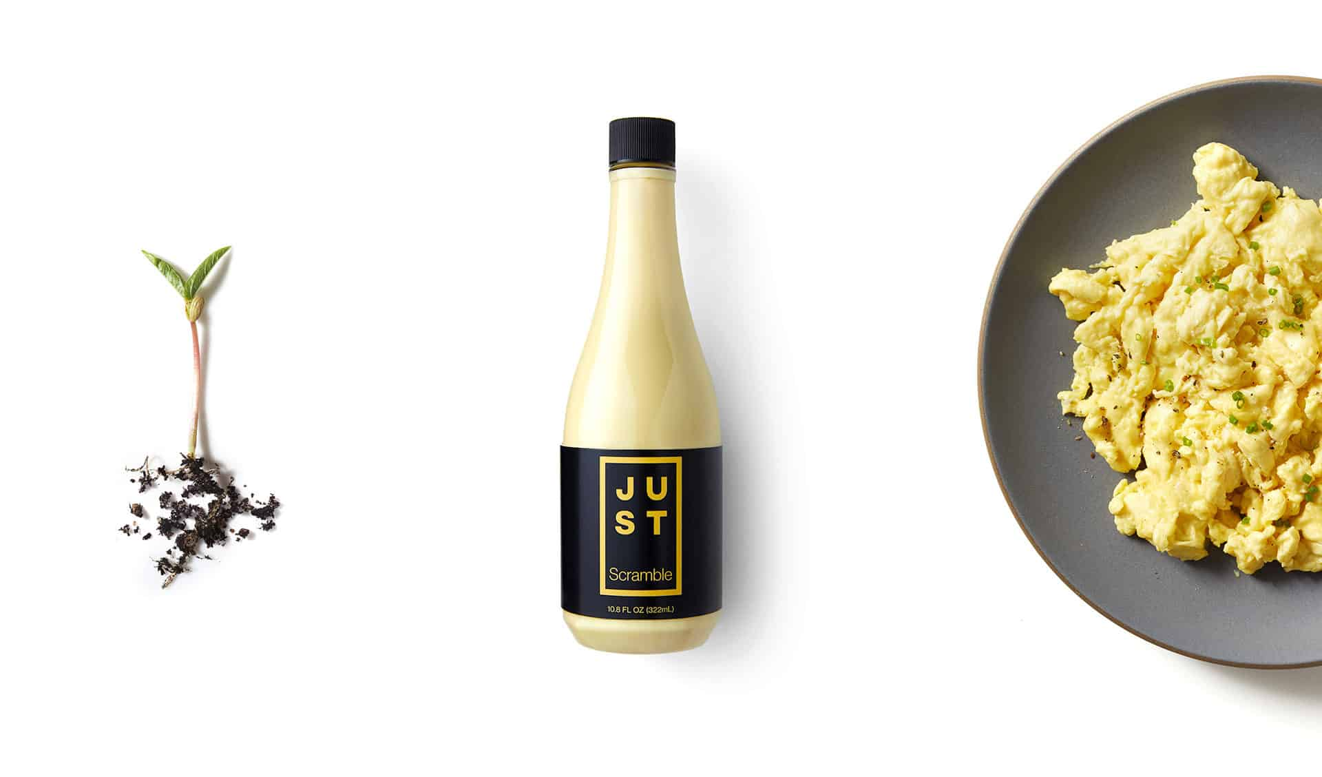 Josh Tetrick's newest plant based food, vegan eggs called JUST Scramble