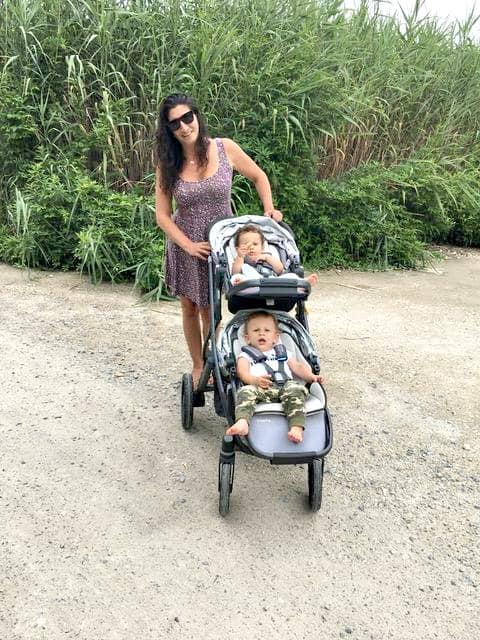 Rachael Ray's Producer Joanna Sims with her Twins